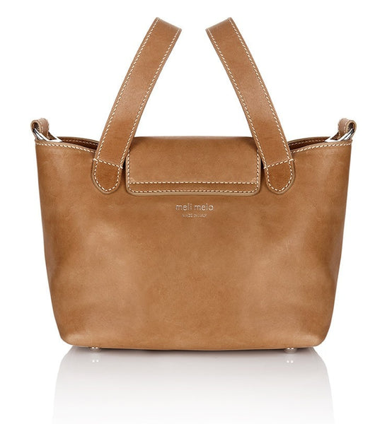Thela Mini Handbag Light Tan - from meli melo