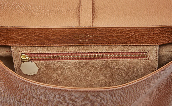 Maisie Medium Cross Body Bag Tan - from meli melo