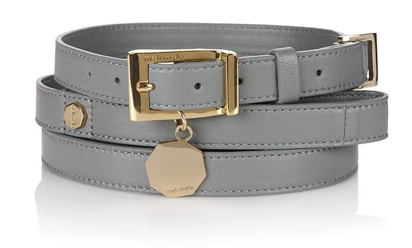 Dog Collar & Lead Blue Heron XS/S - from meli melo