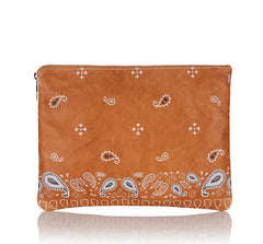 Oversized Clutch Light Tan - from meli melo