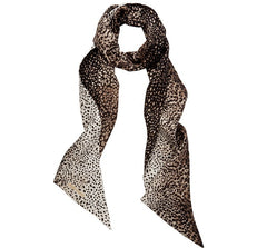 Silk Scarf Leopard - from meli melo