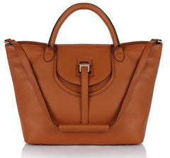 Designer Handbags - Halo Tan - meli melo