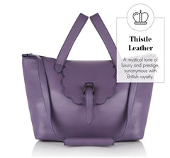 Thela Medium Tote Bag Thistle Purple - from meli melo