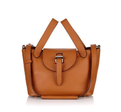 Thela Mini Bag Tan|Italian Handbag|meli melo