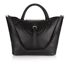 Halo Handbag in Black - from meli melo