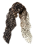 Cashmere Scarf Leopard - from meli melo