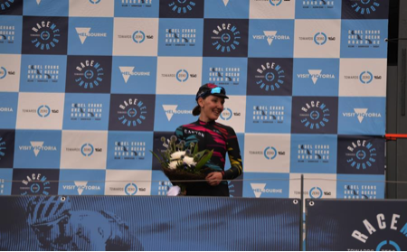 Lisa Brennauer sprints to third at prelude to Cadel Evans Great Ocean Road Race