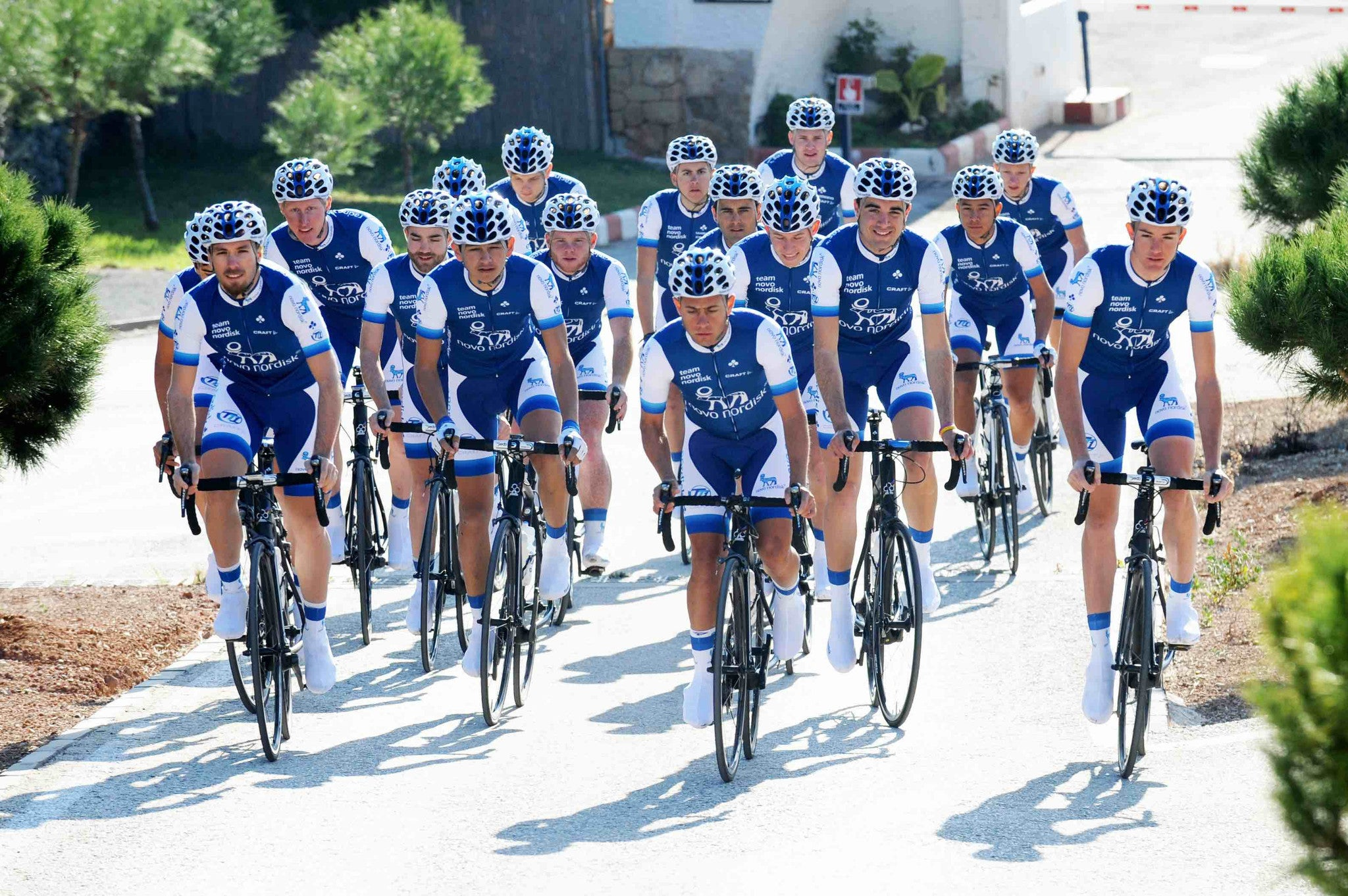 Two Riders Join Team Novo Nordisk Pro Squad as Stagiaires