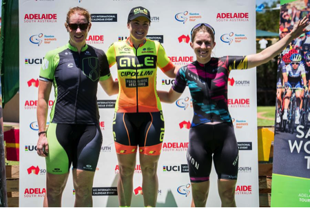 Alexis Ryan sprints to third on stage three in Lyndoch