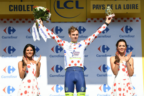 Kiwi Dion Smith retains the polka-dot jersey as leader of the mountains classification