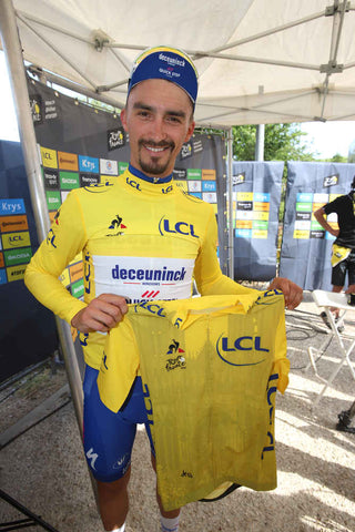 Julian Alaphillipe Winner Stage 3 Tour de France 2019 Yellow Jersey