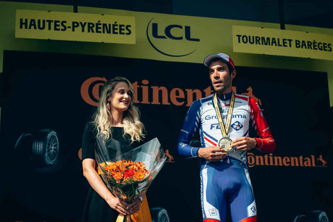 Thibault Pinot Team Groupama FDJ winner stage 14 Tour de France Tourmalet