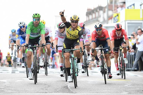 Dylan Groenewegen Team Jumbo - Visma winner stage 7 2019 Tour de france A.S.O./Alex BROADWAY