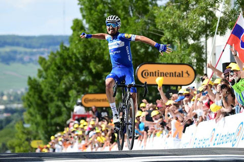Julian Alaphillipe Deceuninck – Quick-StepStage 2 Winner Tour de France 2019