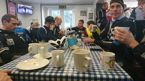 Liverpool Century Road Club at Eureka Cyclist Cafe