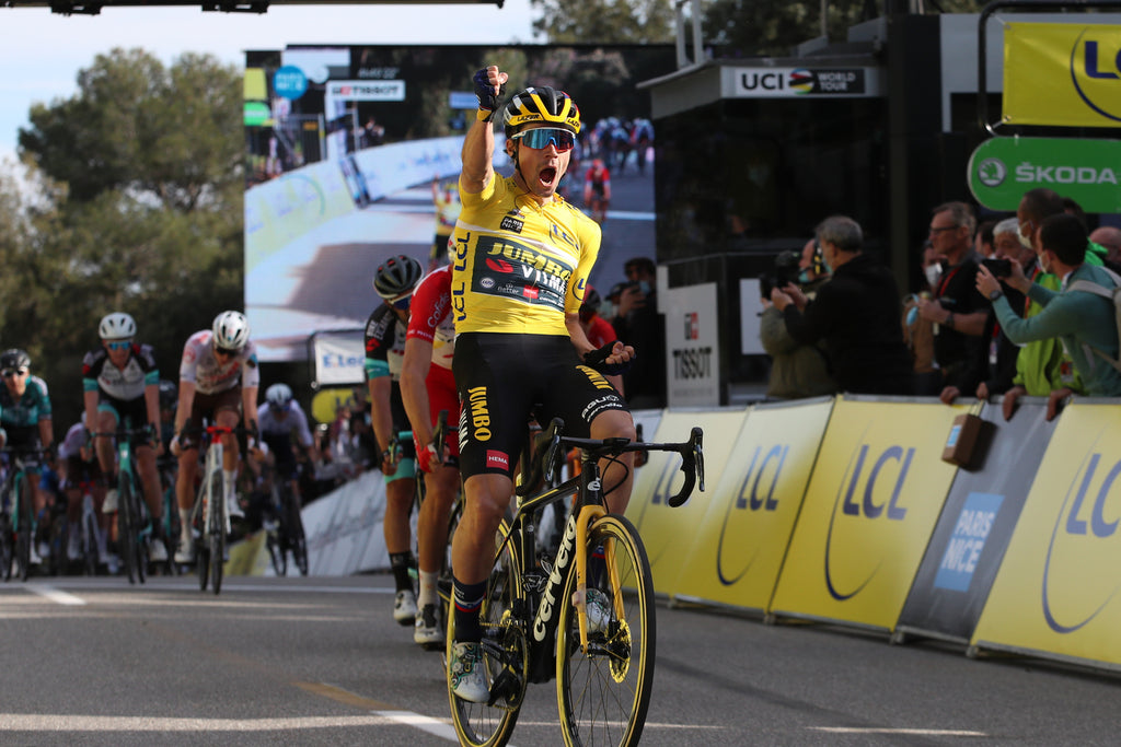 Primoz Roglic takes stage victory at the 2021 Paris-Nice