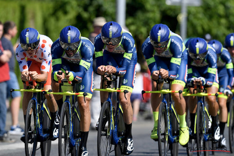 Pasqua leads Wanty-Groupe Gobert in the Team Time Trial