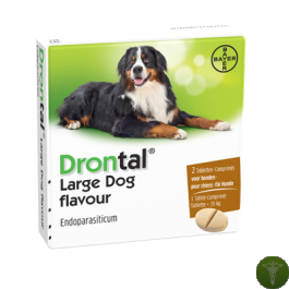 Drontal® Large Dog flavour