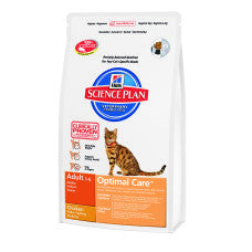 Feline Adult Optimal Care kip/ lam/tonijn