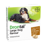 Drontal Large Dog Flavour