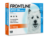 Frontline Spot-on Hond | S 2-10 kg | six-pack