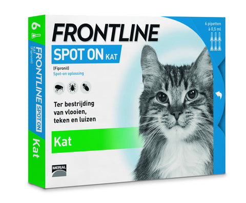 Frontline Spot-on Kat 6 pipetten