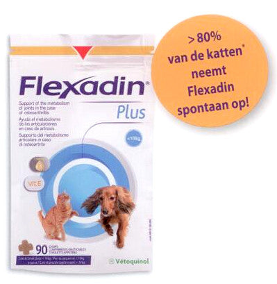 Flexadin Plus mini hond en kat < 10 kg