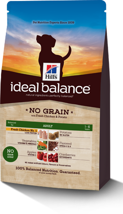 Ideal Balance Adult medium dog graanvrij 12 kg