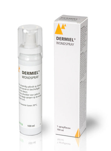 Dermiel wondspray 100ml flacon