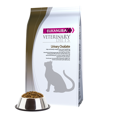 Veterinary Diets Oxalate Urinary Form. Cat | 1,5 kg