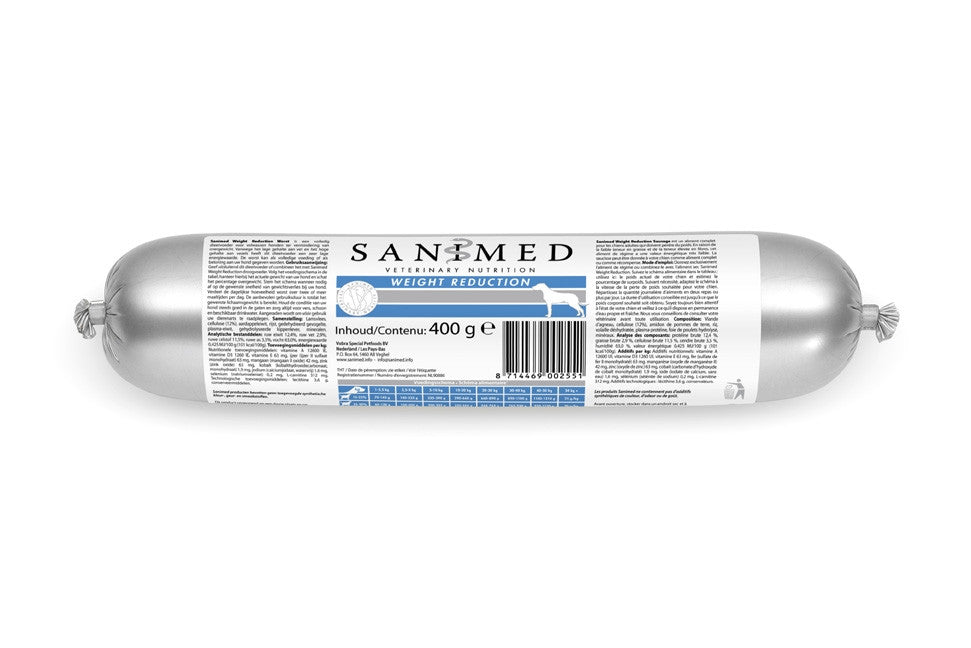 Sanimed Weight Reduction worst l 15 x 400 gram