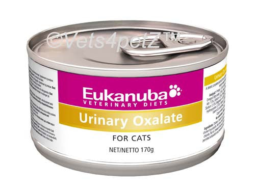 Veterinary Diets | Oxalate Urinary Form. Cat | 12 blik x 170 g