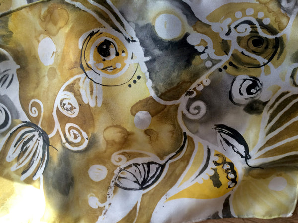 Spiral Dreams - Gold and Black