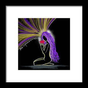 Miracles - Framed Print