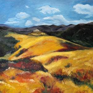 Golden Hills of Topanga - Prints still available