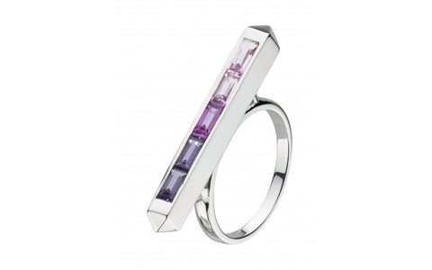 Kit Heath Manhattan Gemstone Ring - VIOLETMAI - 1