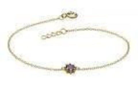 Dew Sterling Silver Claw CZ Bracelet - Violetmai Jewellery and Gifts