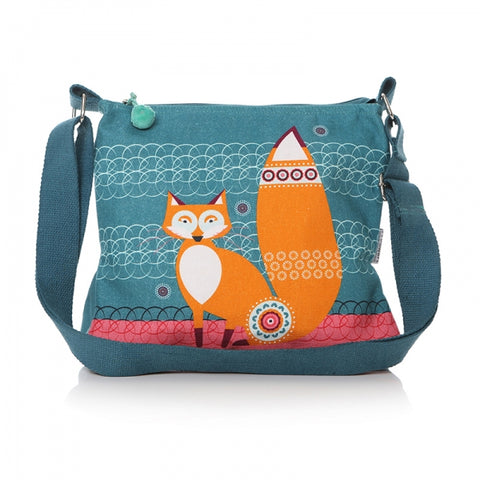 Shruti Scandi Fox Oilcloth Bag