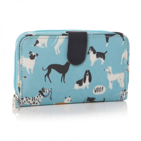 Its a dogs life Purse Blue