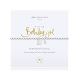 JOMA A Little  Birthday Girl  Bracelet - Violetmai Jewellery and Gifts