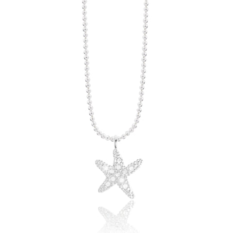 Joma Jewellery Sofia Simple Sparkle Star Necklace