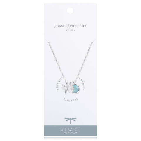 Joma Jewellery Serenity Story Necklace - Violetmai Jewellery and Gifts