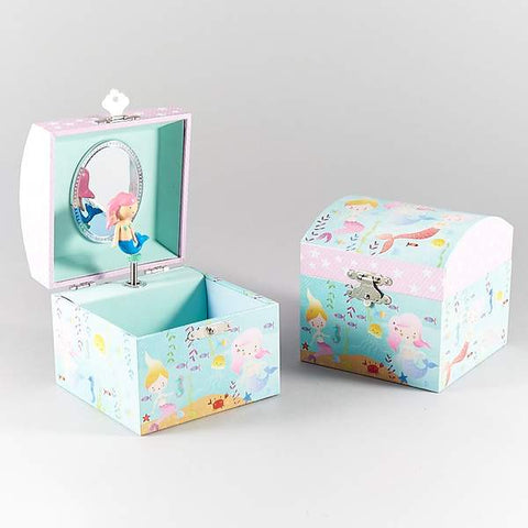Floss and Rock Childrens Mermaid Jewellery Box