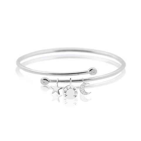 Joma Jewellery Dreamer Story Bangle - Violetmai Jewellery and Gifts