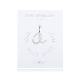 Joma Alphabet  Pave Charm Initial A - Violetmai Jewellery and Gifts
