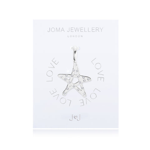 Joma Alphabet  Star Charm - Violetmai Jewellery and Gifts