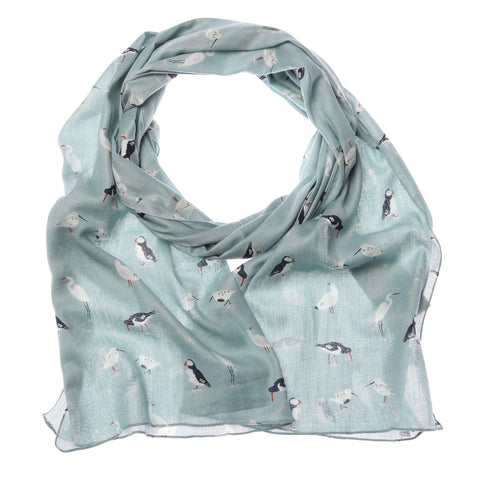 RSPB Bird Blue Scarf