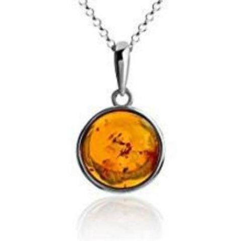 Amber £25 Pendant - Violetmai Jewellery and Gifts
