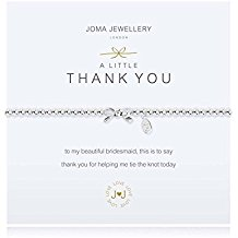 JOMA A Little Thank You Bridesmaid Bracelet