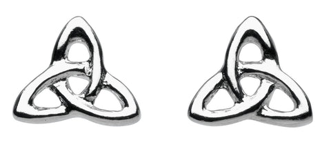 Heritage stu trinity celtic Knot  Studs - Violetmai Jewellery and Gifts